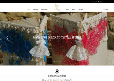 BATTERFLY – GIOIELLI IN PIZZO