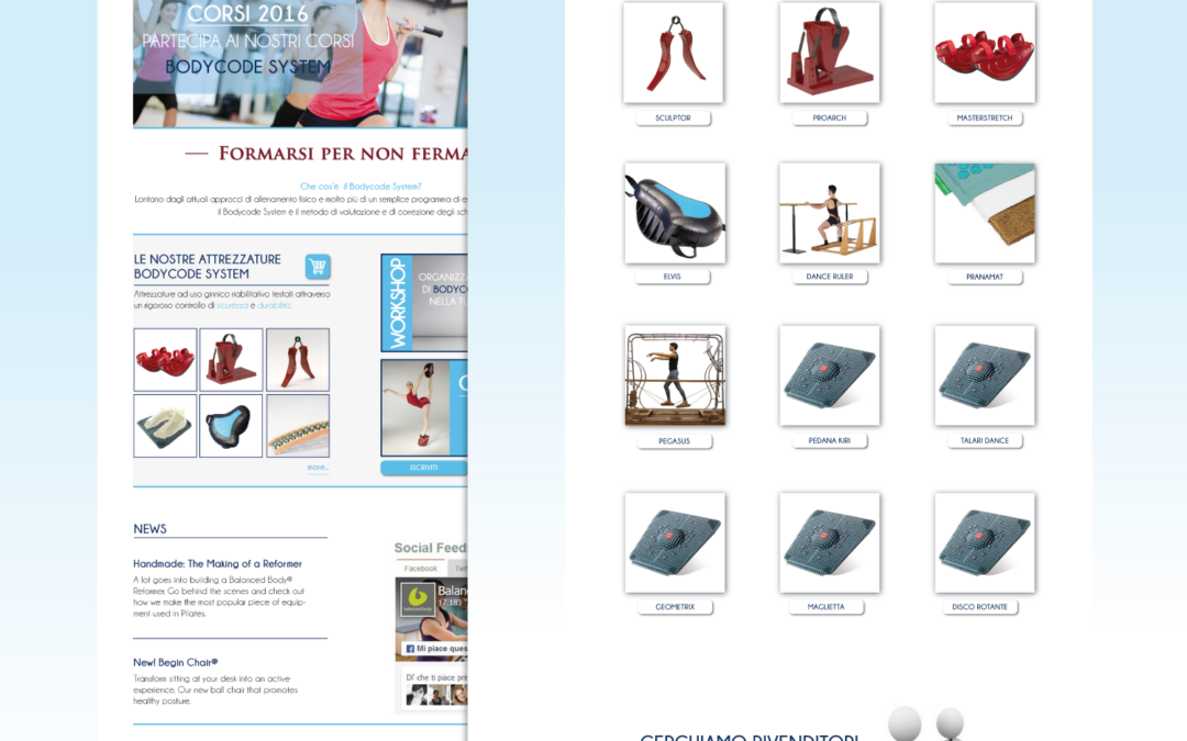 Realizzato sito internet Bodycodesystem