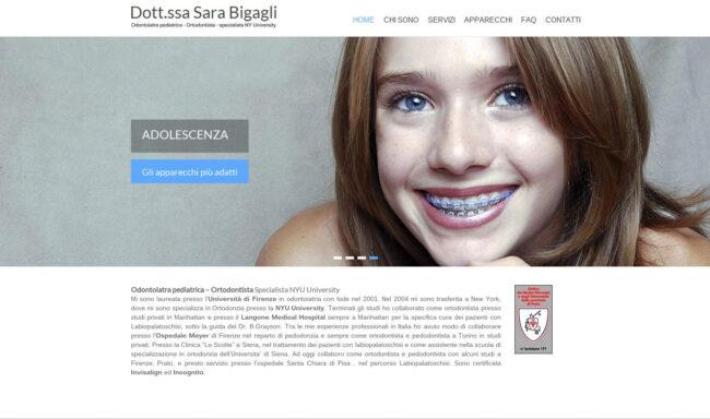 SARA BIGAGLI ORTODONZIA