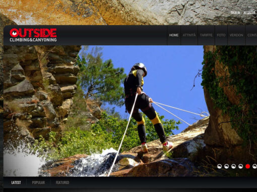 OUTSIDE –  CLIMBING&CANYONING