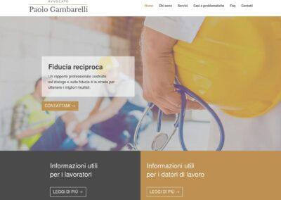 AVVOCATO PAOLO GAMBARELLI