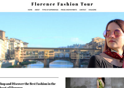 FLORENCE FASHION TOUR