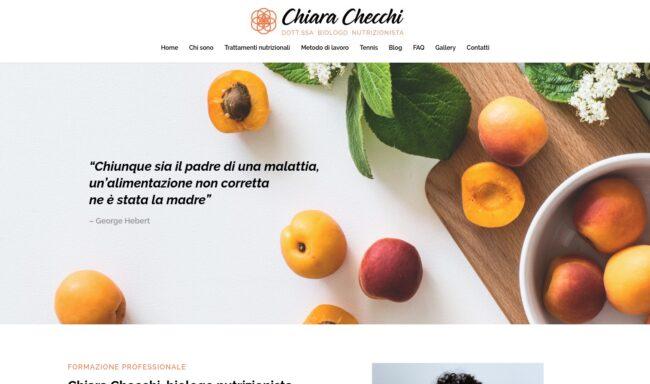 CHIARA CHECCHI BIONUTRIZIONISTA