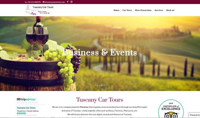 TUSCANY CAR TOURS